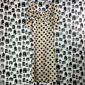 Misguided | Women's Polka Dot Maxi Dress